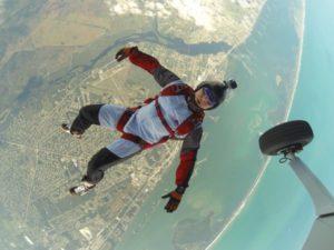 Leidenschaft für den Fallschirmsport