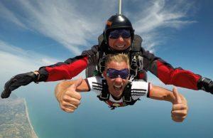 Fallschirmspringen erleben